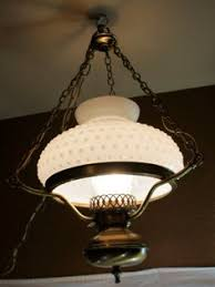 antique hanging glass light shades. vintage hobnail milk glass swag hanging lamp light with by gleaned antique shades