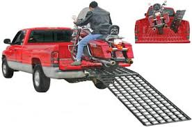 Aluminum Motorcycle Loading Ramps, Folding Pickup Truck Motorcycle ...