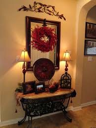 Tuscan Style Decorating Living Room Love Foyer Table Tuscan Style The Iron Accents For The