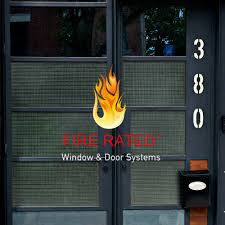 fire rated windows doors glass features