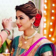 hina khan maharashtrian makeup look mugeek vidalondon