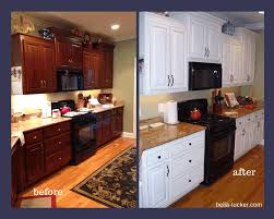 painted kitchen before and after by bella tucker decorative finishes