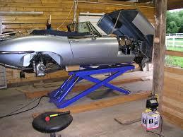 scissor lift car photos
