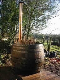 oak wine barrel barrels whiskey. Oak Vat Turned Into Hot Tub Wine Barrel Barrels Whiskey S