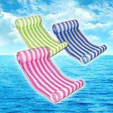 free dhl summer inflatable pool float swimming floating bed water hammock recreation beach mat mattress lounge