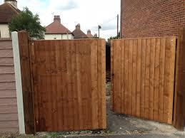 wood fence double gate. Bi Folding Double Gates 1 Wood Fence Gate I