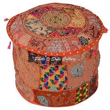 Indian Pouf Covers