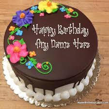 happy birthday chocolate cake with name. Unique Birthday And Happy Birthday Chocolate Cake With Name C