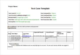 Test Case Template - 25+ Free Word, Excel, PDF Documents Download ...