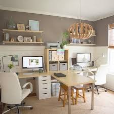 two desk office. Best 25 Double Desk Office Ideas On Pinterest | Room For Stylish Property Remodel Two