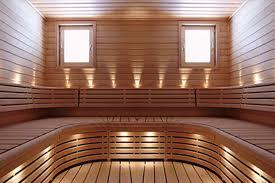 back to sauna lighting