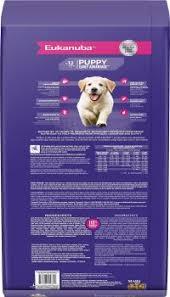 Eukanuba Large Breed Puppy Feeding Chart Eukanuba Dog Food Feeding Chart Iams Dry Dog Food