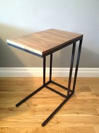 image of creating barrel side table crate and barrel echelon side pertaining to sizing 918 x