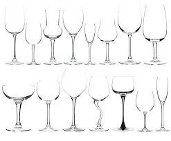 stemware types types of wine glasses pick the perfect vessel for your vino blog identify stemware