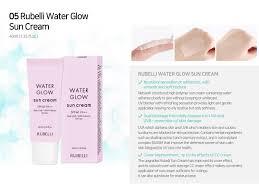 Light Glow Cream Rubelli Water Glow Sun Cream Tradekorea