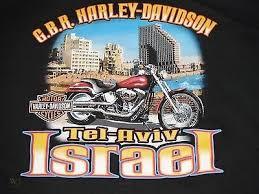 harley davidson tel aviv israel t shirt