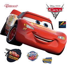 Lighting Mcqueen Stickers Lightning Mcqueen Cars 3 Giant Officially Licensed Disney Pixar Removable Wall Decal