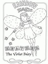 Small Picture Pretty Design Rainbow Magic Fairies Coloring Pages 15 Free