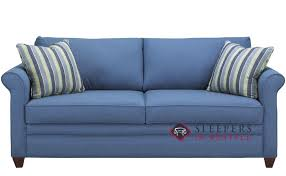 denver queen fabric sofa by savvy