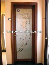 stained glass french door solid panel interior doors for do