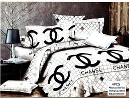 Chanel Branded Quilt Cover Set 4 Peices : ITPlanet.pk & Chanel Branded Quilt Cover Set 4 Peices Adamdwight.com