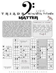 Standard Bass Matter Triads In 2019 Bass Guitar Lessons
