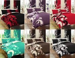 grandeur printed duvet cover fl bedding set all sizes