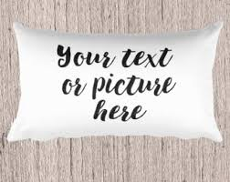 custom rectangular pillow, custom pillows, personalized photo pillow,  personalized text pillows,throw