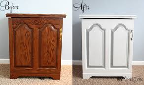paint laminate furnitureSewing Cabinet Makeover Painting Furniture  Two Twenty One