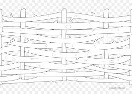 picket fence drawing. Colouring Pages Coloring Book Fence Line Art Drawing - Picket