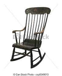 rocking chair drawing easy. vintage rocking chair - csp5349013 drawing easy