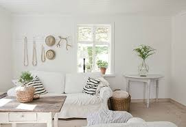 white shabby chic beach decor white shabby. White Slipcover Sofa With Slouchy Striped Pillows And Weathered Wood Coffee Table Makes For A Simple Shabby Design. Inspiring Chic Coastal Decor. Beach Decor H