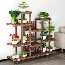 multi shelf plant stand. Flower Rack Plant Stand Multi Wood Shelves Bonsai Display Shelf Indoor Outdoor Yard Garden Patio In AliExpresscom