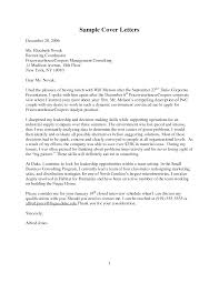 Cover Letter Cover Letter For Bcg Consulting Company Cover Letter