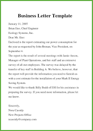 Letter Template For Word Free Business Letter Template In Word Doc Pdf Format