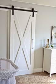 barn door handmade hanging kit handle lowes