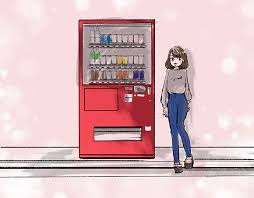 Vending Machine Girl Magnificent A Vending Machine Can Post Beautiful Picture On Ins
