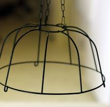 you can also turn the basket upside down to use as the base for a chandelier but if you decide to bead it the same way you ll need to add a couple of