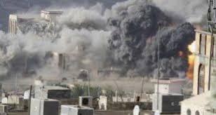 Image result for سعودیها دیروز 13 بار بر سر مردم یمن بمب ریختند
