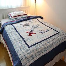 cool idea airplane comforter set vintage crib bedding baseball stripe route collection our home collections airplanes