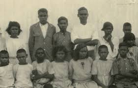 "children seated and standing in rows stolen generation children  children seated and standing in rows stolen generation children kahlin compound"" northern"
