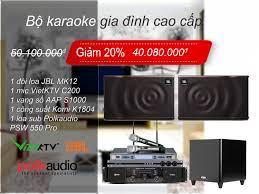 Dàn Karaoke gia đình combo 001 - khuyến mãi căng đét