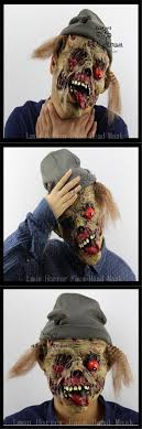 Free shipping Party Cosplay Zombie mask latex bloody scary halloween mask  adutl costume party cosplay prop