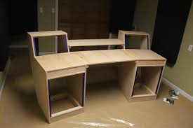 diy desk cost. This Just Goes To Show You That Anyone Can Build Their Own Desk If They Want To. A Studio Like Would Cost Well Over $2000 But With Lot Work Diy