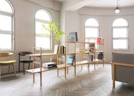 designer office space. Beautiful Designer Is A Minimalist Design Created By Japanbased Designer Mikiya Kobayashi  The System Come In Two Different Height Variations Layers Of Shelves Or Three  In Designer Office Space C