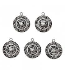 10pcs vintage hat shape charms bohemia pendants findings for necklace bracelet jewelry making crafts charms 25