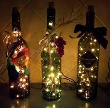 Wine Bottlesu003dChristmas Display  Cleverly InspiredWine Bottle Christmas Crafts