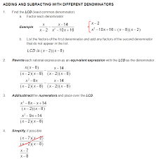 Comfortable Rational Expressions Word Problems Worksheet Images ...