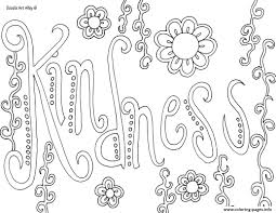 Kindness Coloring Pages 9041 Octaviopazorg