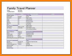 trip planner templates travel schedule template gallery template design ideas